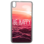 Coque Rigide Be Happy Love Pour Htc Desire 816