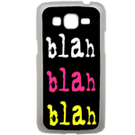 Coque Rigide Pour Samsung Galaxy Grand 2 Motif Bla Bla Couleur Flash