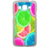 Coque Rigide Pour Samsung Galaxy Grand 2 Motif Citron Flash Coloré Été