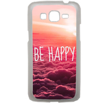 Coque Rigide Pour Samsung Galaxy Grand 2 Motif Be Happy Love