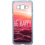 Coque Rigide Pour Samsung Galaxy Grand Prime Motif Be Happy Love
