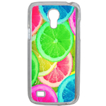 Coque Rigide Citron Flash Coloré Été Samsung Galaxy S4 Mini
