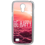 Coque Rigide Be Happy Love Pour Samsung Galaxy S4 Mini