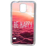 Coque Rigide Be Happy Love Pour Samsung Galaxy S5