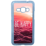 Coque Rigide Pour Samsung Galaxy J1 2016 Motif Be Happy Love