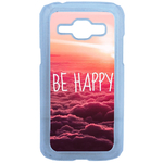 Coque Rigide Be Happy Love Pour Samsung Galaxy J1
