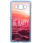 Coque Rigide Be Happy Love Pour Samsung Galaxy J7 2016