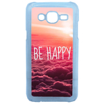 Coque Rigide Be Happy Love Pour Samsung Galaxy J5
