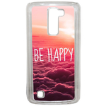 Coque Rigide Be Happy Love Pour Lg K10