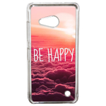 Coque Rigide Be Happy Love Pour Microsoft Lumia 550