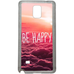 Coque Rigide Be Happy Love Pour Samsung Galaxy Note 4