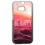 Coque Rigide Be Happy Love Htc One 2 M8