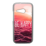 Coque Rigide Be Happy Love Pour Htc One Mini 2