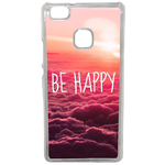 Coque Rigide Be Happy Love Pour Huawei Ascend P9 Lite
