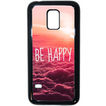 Coque Rigide Be Happy Love Pour Samsung Galaxy S5 Mini