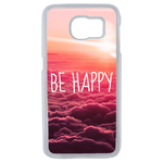 Coque Rigide Pour Samsung Galaxy S6 Motif Be Happy Love