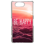 Coque Rigide Pour Sony Xperia Z3 Compact Motif Be Happy Love