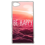 Coque Rigide Be Happy Love Pour Sony Xperia Z5 Compact