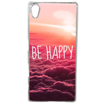 Coque Rigide Be Happy Love Pour Sony Xperia Xa