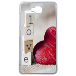 Coque Rigide Coeur Love Microsoft Lumia 650
