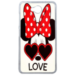 Coque Rigide Disney Minnie Love Microsoft Lumia 650