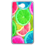 Coque Rigide Citron Flash Coloré Été Microsoft Lumia 650