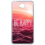 Coque Rigide Be Happy Love Pour Microsoft Lumia 650