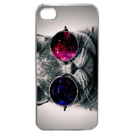 Coque Rigide Pour Apple Iphone 4 - 4s Motif Chat Swag Humour