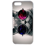 Coque Rigide Pour Apple Iphone 5 - 5s Motif Chat Swag Humour