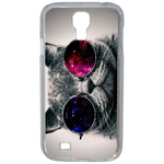 Coque Rigide Humour Chat Swag Pour Samsung Galaxy S4
