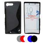 Coque Gel Vague S Pour Sony Xperia X Compact + Film