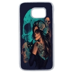 Coque Rigide Pour Samsung Galaxy Note 8 Motif Dia De Los Muertos
