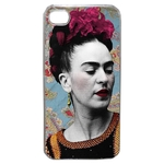 Coque Rigide Pour Apple Iphone 4 - 4s Motif Frida Khalo 1