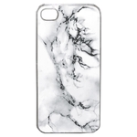 Coque Rigide Pour Apple Iphone 4 - 4s Motif Marbre Blanc