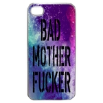 Coque Rigide Pour Apple Iphone 4 - 4s Motif Bad Mother Fucker