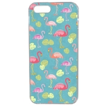 Coque Rigide Pour Apple Iphone 5 - 5s Motif Flamant Rose