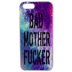 Coque Rigide Pour Apple Iphone Se Motif Bad Mother Fucker