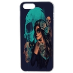 Coque Rigide Pour Apple Iphone 5 - 5s Motif Dia De Los Muertos