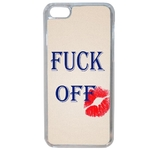 Coque Souple Pour Apple Iphone 6 Plus - 6s Plus Fuck Off Humour Fille