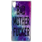 Coque Rigide Pour Sony Xperia Z5 Motif Bad Mother Fucker