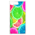 Coque Rigide Citron Flash Coloré Été Sony Xperia X Compact