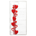 Coque Rigide Pour Sony Xperia X Compact Motif Coeur 1 Amour