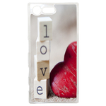 Coque Rigide Pour Sony Xperia X Compact Motif Coeur 2 Amour