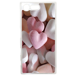 Coque Rigide Pour Sony Xperia X Compact Motif Coeur 3 Amour