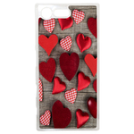 Coque Rigide Pour Sony Xperia X Compact Motif Coeur 4 Amour