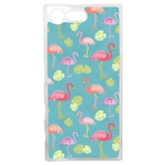 Coque Rigide Flamant Rose Pour Sony Xperia X Compact