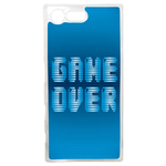 Coque Rigide Geek Game Over 1 Pour Sony Xperia X Compact