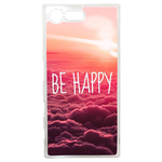 Coque Rigide Pour Sony Xperia X Compact Motif Be Happy Love