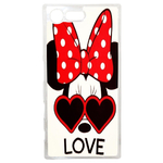 Coque Rigide Disney Minnie Love Sony Xperia X Compact