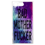 Coque Rigide Pour Sony Xperia X Compact Motif Bad Mother Fucker
